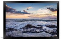 Perfect Sunset, Framed Print