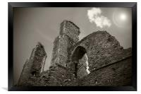 Ruins of the Abbey, Framed Print