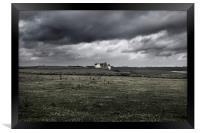 Haunted House, Framed Print