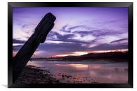 The Last Sunset, Framed Print