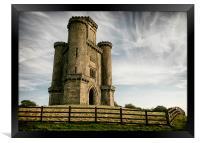 Soaring Tower, Framed Print