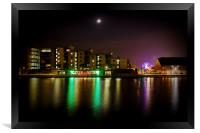 Colours of the Night, Framed Print