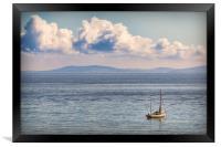 Sailing, Framed Print
