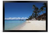 Boracay Beach, Philippines, Framed Print