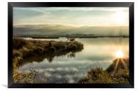Rays Over Fern Ridge, Framed Print