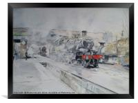 Great Central Steam, Framed Print