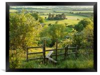 Aldbury Nowers, Framed Print