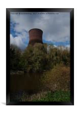 Ironbridge Cooling Towers, Framed Print
