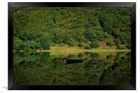 Llyn Mwyngil Reflection, Framed Print