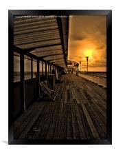 Bournemouth pier, Framed Print