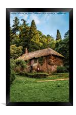 Cockingtons gamekeepers cottage., Framed Print