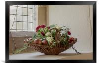 Fruit and Flowers, Framed Print