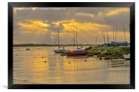 Maldon Sunrise, Framed Print