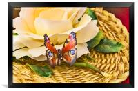 The Butterfly, Framed Print