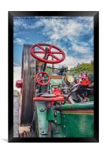Flywheel, Framed Print