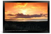 Kingsnorth Power Station, Framed Print