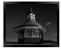 Frinton Clocktower Shelter, Framed Print