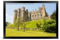 Arundel castle, Sussex, Framed Print