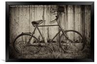 Vintage Bicycle, Framed Print