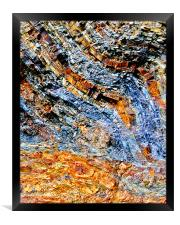 The Colour of Rock, Framed Print