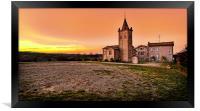 Sunset at Villabianca, Framed Print