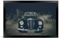 old car Lancia, Framed Print