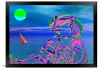 Exotic Dreams, Framed Print