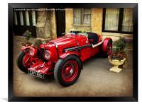 Rare Aston Martin., Framed Print