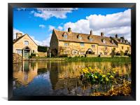 Lower Slaughter (The Cotswolds), Framed Print