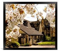 Springtime Cotswolds, Framed Print