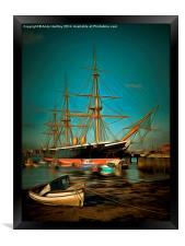 HMS Warrior, Framed Print