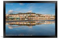 Bristol Harbourside Reflected, Framed Print