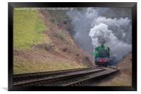 Steam Train, Framed Print