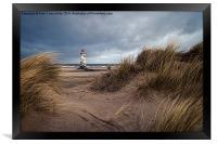 Talacre Lighthouse, Framed Print