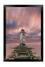 Deserted Lighthouse, Framed Print