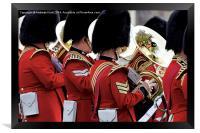 Welsh Guards Band 2, Framed Print