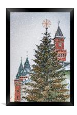 Helsingborg Christmas Time, Framed Print
