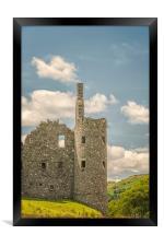 Kilchurn Castle Corner Turret, Framed Print