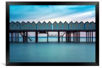 Helsingborgs Cold Bathhouse Facade, Framed Print