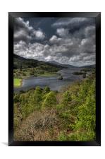 Loch Tummel, Framed Print