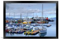 Mallaig Harbour, North West Scotland, Framed Print