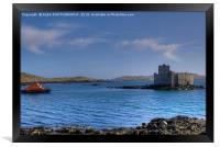 Kisimul Castle, Isle of Barra, , Framed Print