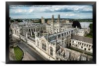 All Souls College - Oxford University, Framed Print