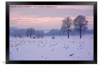 Winter Evening, Framed Print