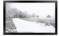 Severe Frost, Framed Print