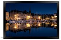 Honfleur by night, Framed Print