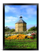 The old dovecot at the 14th century  Augustinian p, Framed Print