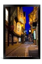 The Shambles, York, Framed Print