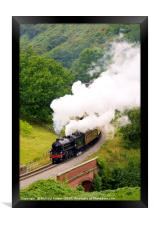 Yorkshire Coast Express, Framed Print