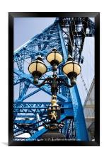 Tees Transporter Bridge, Framed Print